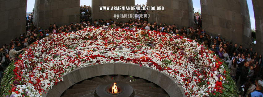 Eternal flame of the Armenian Genocide